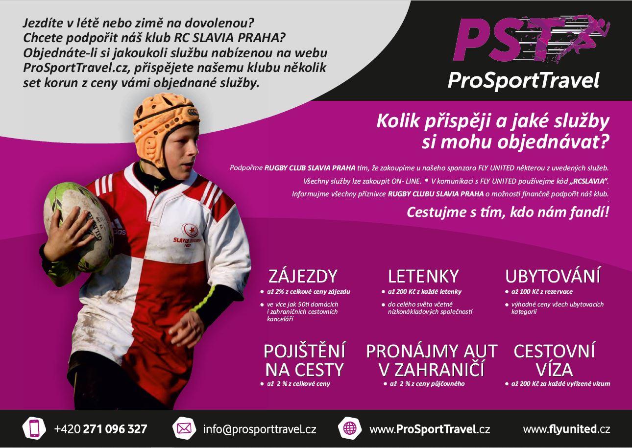 PST letáček RC Slavia Praha